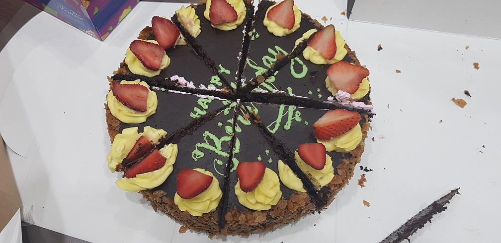 ケーキを切ってみるのサムネイル