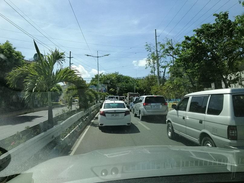 今朝の渋滞の原因のサムネイル