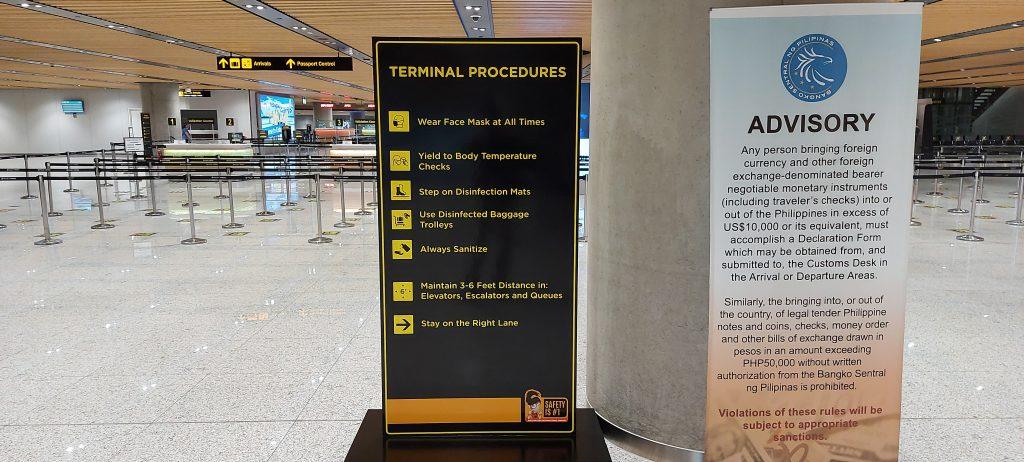 セブ・マクタンインターナショナル空港受け入れ態勢の現状 (国際線)のサムネイル