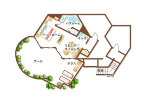 Jパークアイランドリゾート&ウォーターパーク プールヴィラ(イメージ)